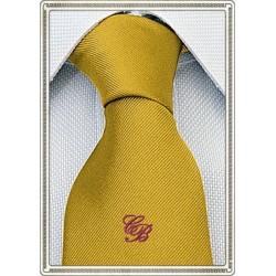Cravatta giallo oro...