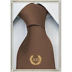 Cravatta Marrone con stemma...