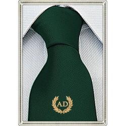 Cravatta Verdone con stemma...