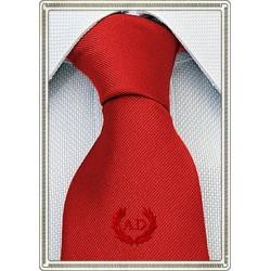 Cravatta rossa con stemma...